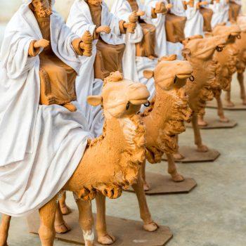 Reyes Magos con tela